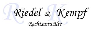 Logo Rechtsanälte Riedel & Kempf
